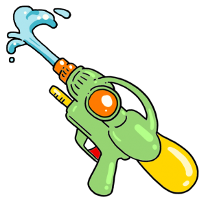 Super-Soaker squirtgun